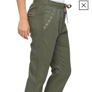 Roxy Army Green Cargo Pants